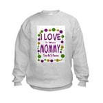 Mommy Takes Me To Parades Kids Sweatshirt