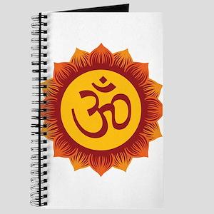 Hindu Aum Symbol Journal