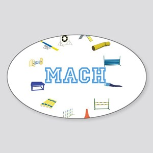 Agility MACH Sticker (Oval)