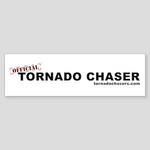 Official Tornado Chaser Bumper Sticker