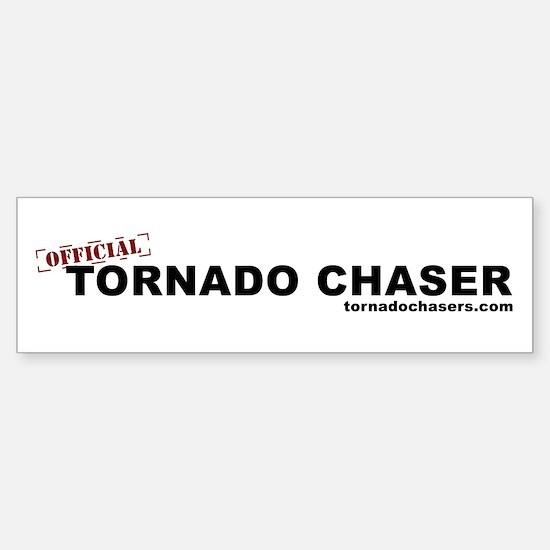Official Tornado Chaser Bumper Bumper Bumper Sticker
