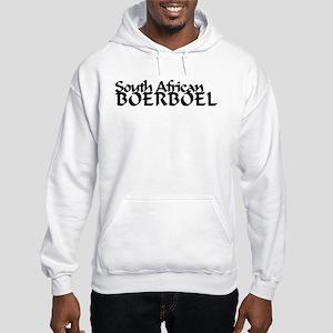 South African Boerboel Hooded Sweatshirt