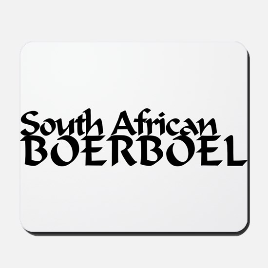 South African Boerboel Mousepad