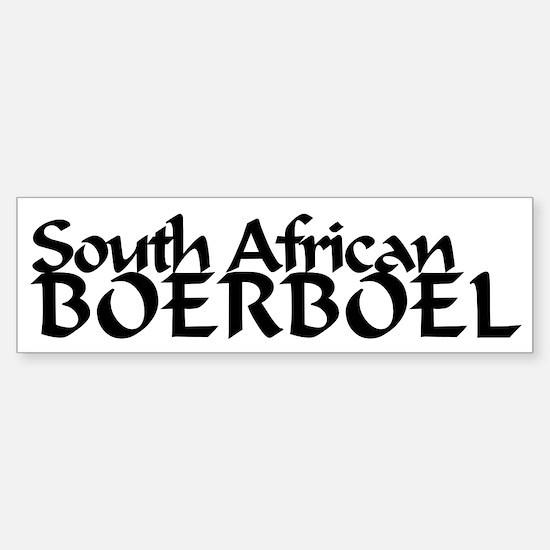 South African Boerboel Sticker (Bumper)