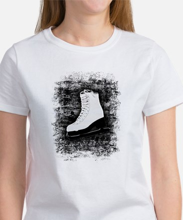 Graffiti Ice Skate Women's T-Shirt