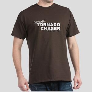 tornadochaser2linedark T-Shirt