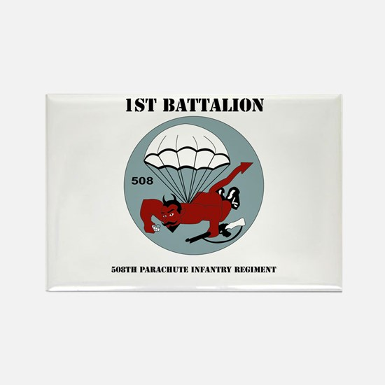 DUI - 1st Bn - 508th Parachute Infantry Regt with