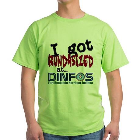 """""""Rundasized"""" Green T-Shirt"""