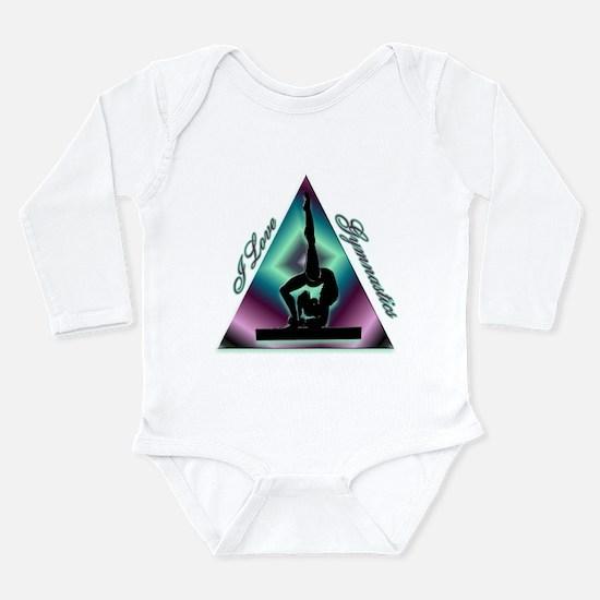 I Love Gymnastics Triangle #2 Long Sleeve Infant B