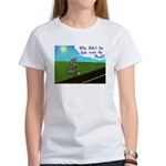 Why didn't the egg? Women's T-Shirt