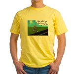 Why didn't the egg? Yellow T-Shirt