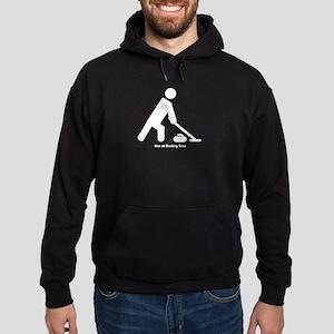 Curler Guy Hoodie (dark)