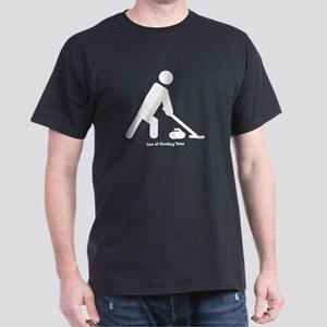 Curler Guy Dark T-Shirt