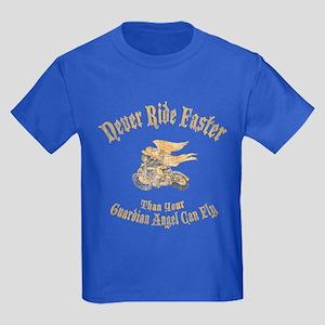Never Ride Faster Kids Dark T-Shirt