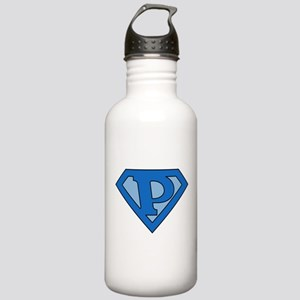 Super Blue P Stainless Water Bottle 1.0L