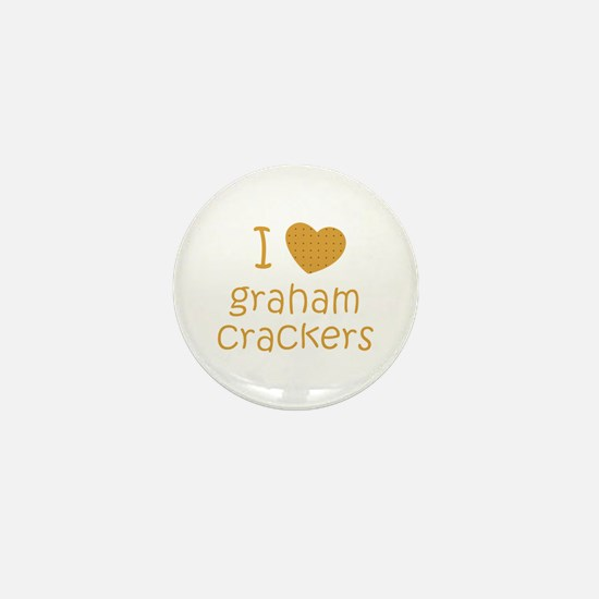I love graham crackers Mini Button