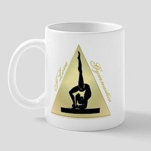I Love Gymnastics triangle #8 Mug