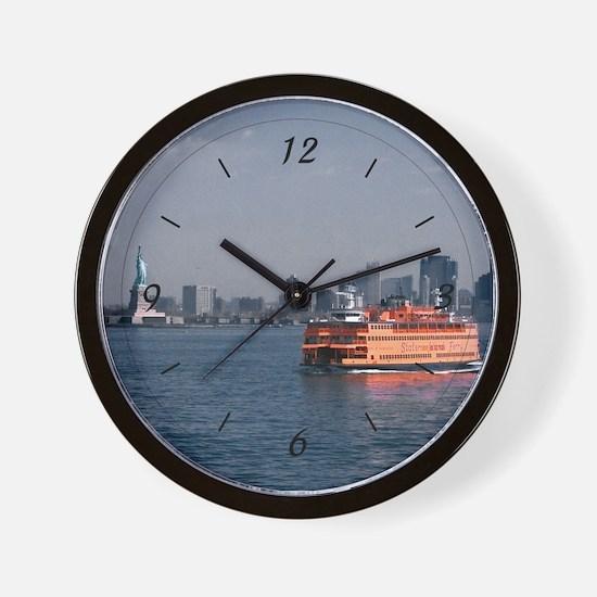 Staten Island Ferry Wall Clock