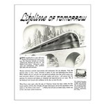 Seaboard Railway 1945 Small Poster