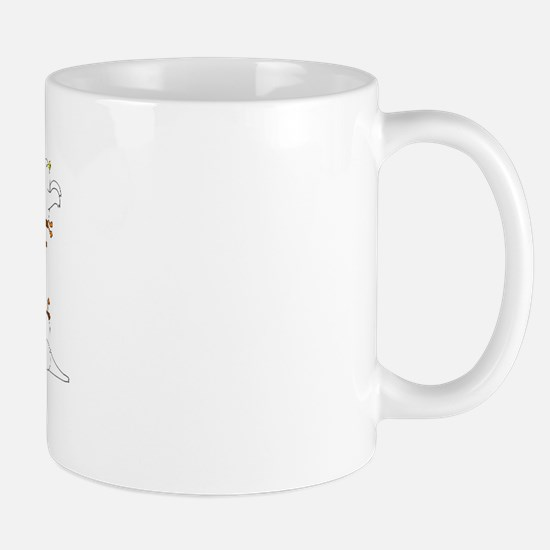 Pianist Seen From the Back Mug