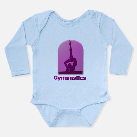 I Love Gymnastics #11 Long Sleeve Infant Bodysuit