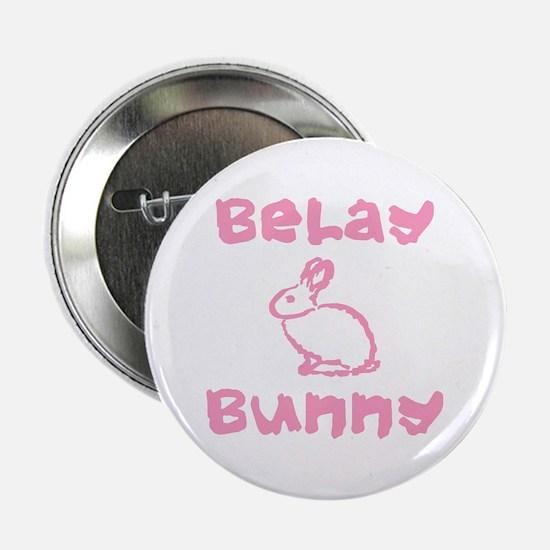 """Belay Bunny 2.25"""" Button"""