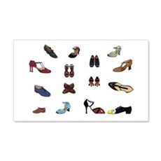 Shoes Wall Decal