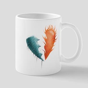 Element's Broken Heart Mug