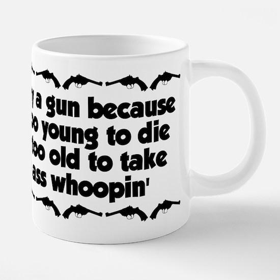 asswhoopin 20 oz Ceramic Mega Mug