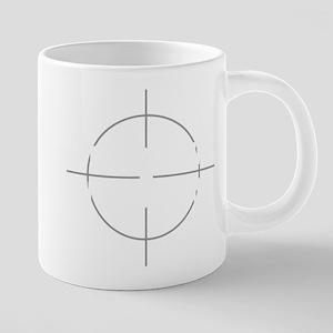 No Target 20 oz Ceramic Mega Mug
