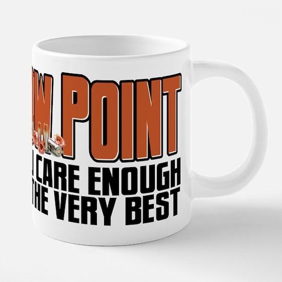 When You Care Enough 20 oz Ceramic Mega Mug