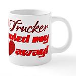 hauled my heart away2 20 oz Ceramic Mega Mug