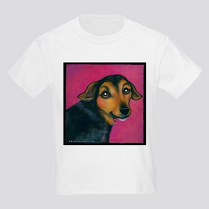 "Jack Russell ""Peanut"" Kids Light T-Shirt"