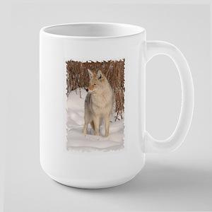 Winters Dog Large Mug