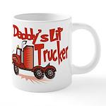 DADDYSLILTRUCKER.png 20 oz Ceramic Mega Mug