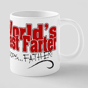 World's Best Farter 20 oz Ceramic Mega Mug