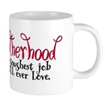 amotherhood 20 oz Ceramic Mega Mug