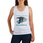 Greatness Can Be Born Anywher Women's Tank Top
