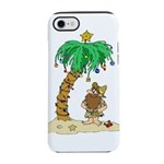 Desert Island Christmas iPhone 8/7 Tough Case