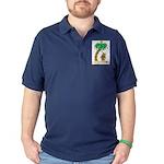 Desert Island Christmas Dark Polo Shirt