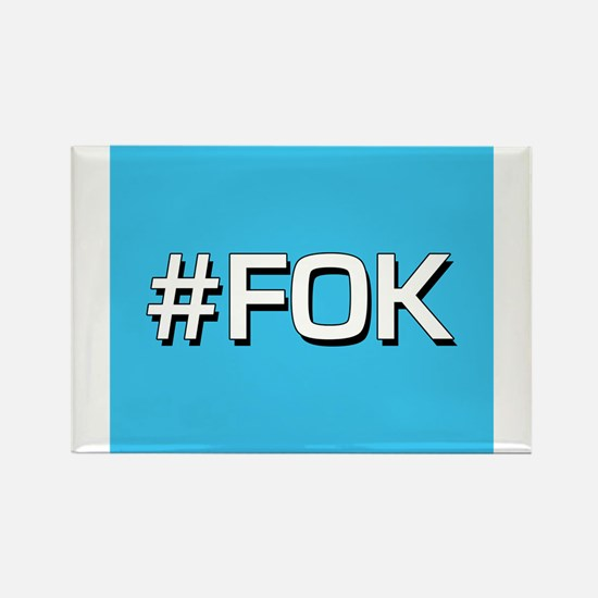 #FOK (Friend Of Keith) Rectangle Magnet