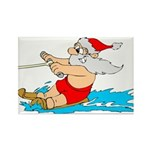 Waterski Santa Magnets