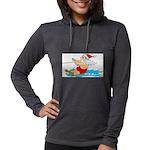 Waterski Santa Long Sleeve T-Shirt