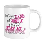 Not Just a SAHM 20 oz Ceramic Mega Mug