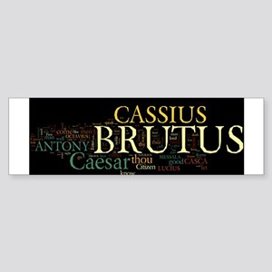 Julius Caesar Sticker (Bumper)