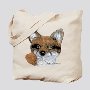 Fox Portrait Design Tote Bag