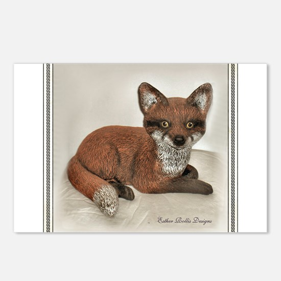 Fox Postcards (Package of 8)