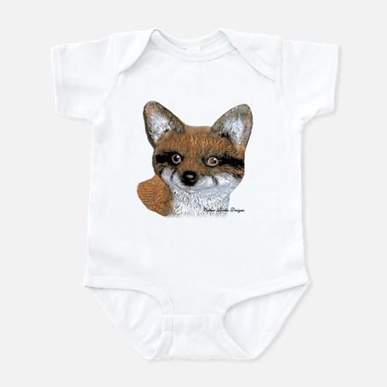 Fox Portrait Design Infant Bodysuit