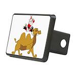 Camel Rodeo Santa Rectangular Hitch Cover