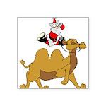 Camel Rodeo Santa Sticker